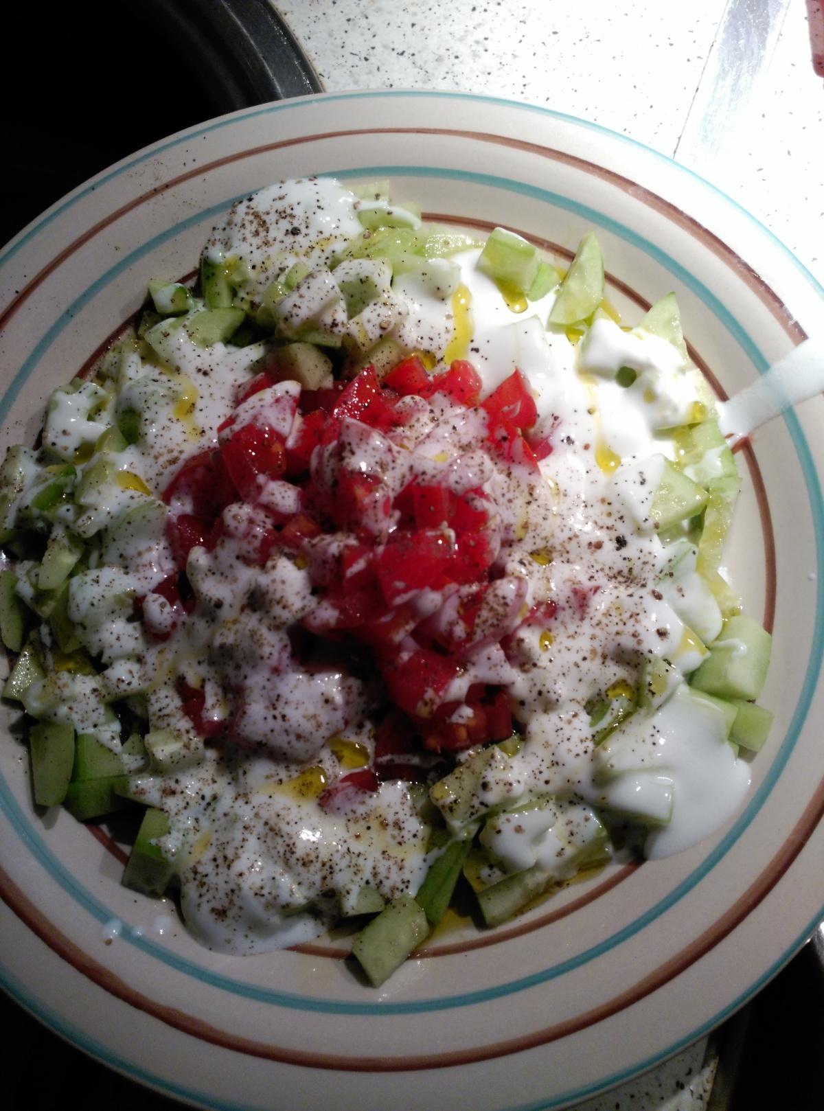 Nueva receta en sección: Ensalada de primavera conyogur